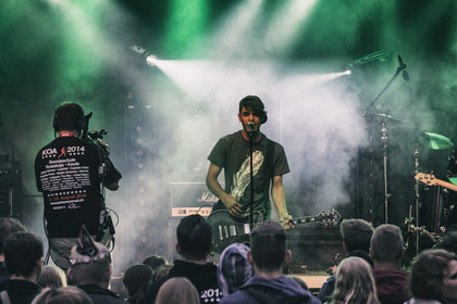 Fotos: How About Coffee live beim Karben Open Air 2014